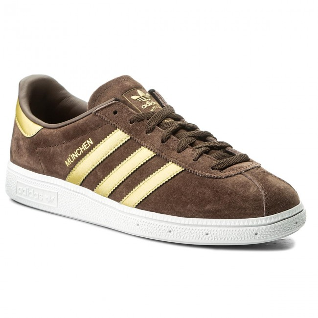 Buty adidas Munchen CQ2320 BrownMagoldFtwwht