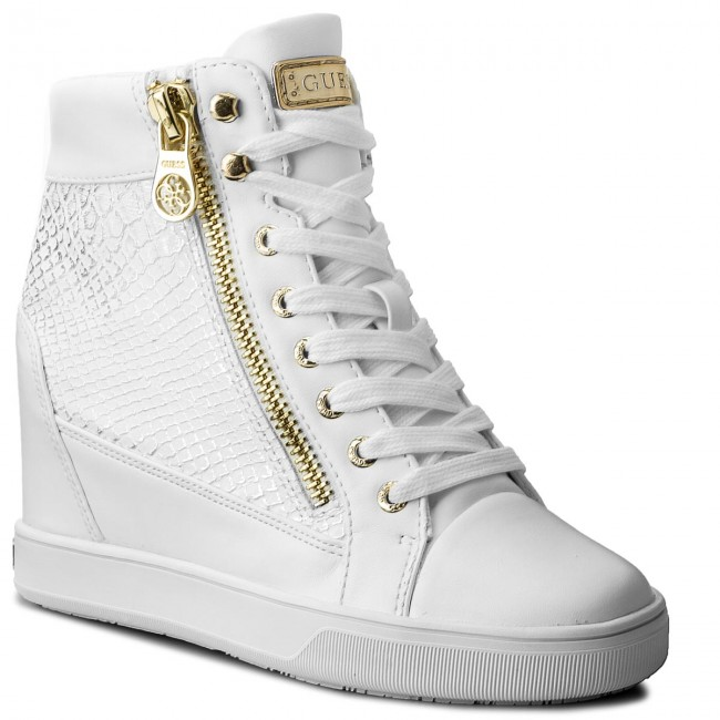 Sneakersy GUESS - Foresst FLFOR1 PEL12 WHITE