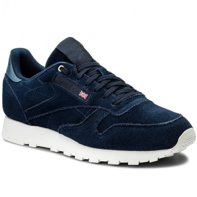 Buty Reebok Cl Leather Mcc CM9609 BlueChalak