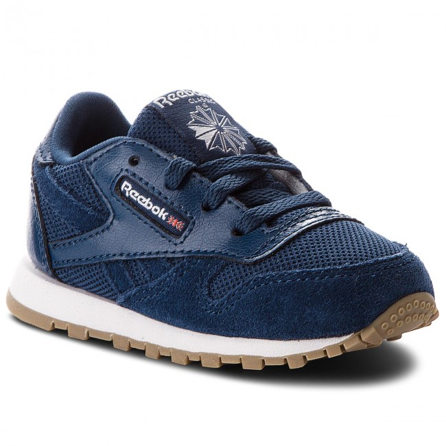 Buty Cl Leather Estl CN1138 Washed BlueWhite (Reebok)