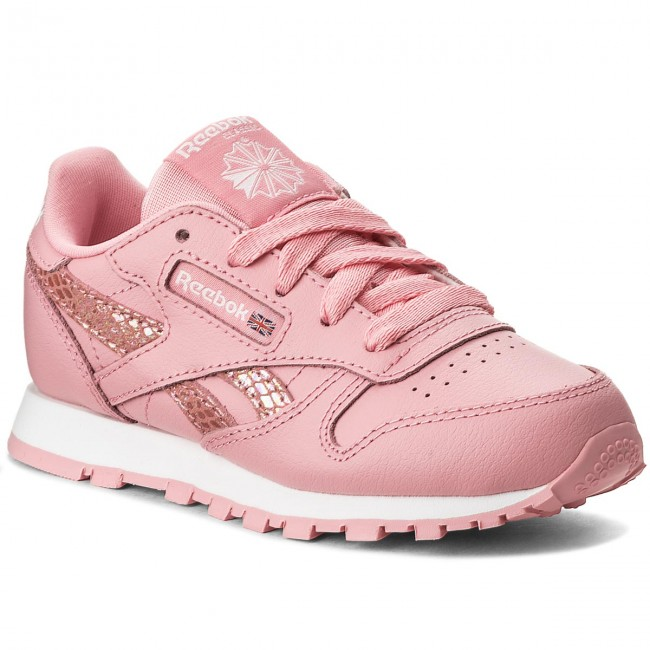 Buty Reebok - Cl Leather Spring CN0319 Pink/White