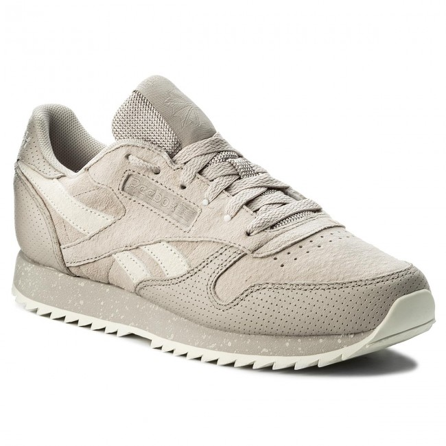 e0119fe3 Buty Reebok - Classic Leather Ripple SM BS9725 Sand Stone/Chalk ...