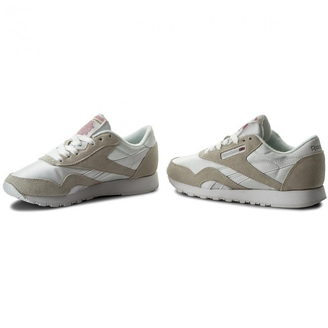 Buty Reebok Cl Nylon 6394 WhiteLight Grey