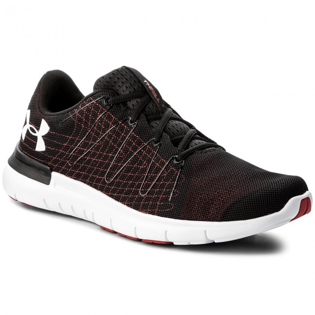 Buty UNDER ARMOUR - Ua Thrill 3 1295736-002 Blk/Red/Wht