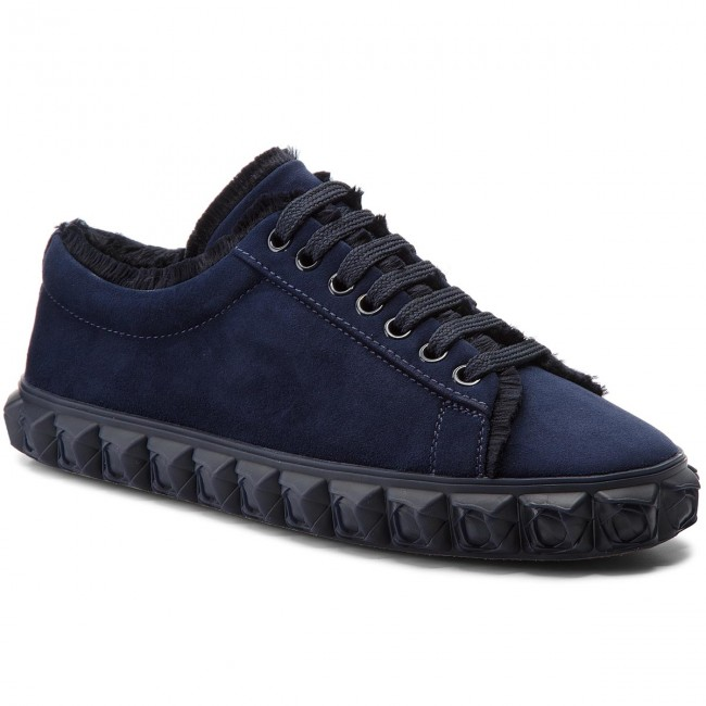 Sneakersy STUART WEITZMAN - Fringiecoverstory XL17415 French Navy/Sea Suede