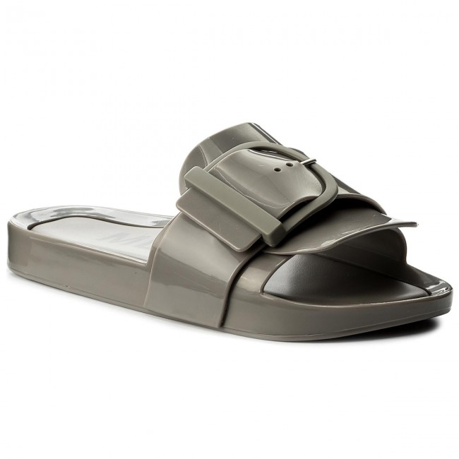 Klapki MELISSA - Beach Slide IV Ad 32286 Grey 01086