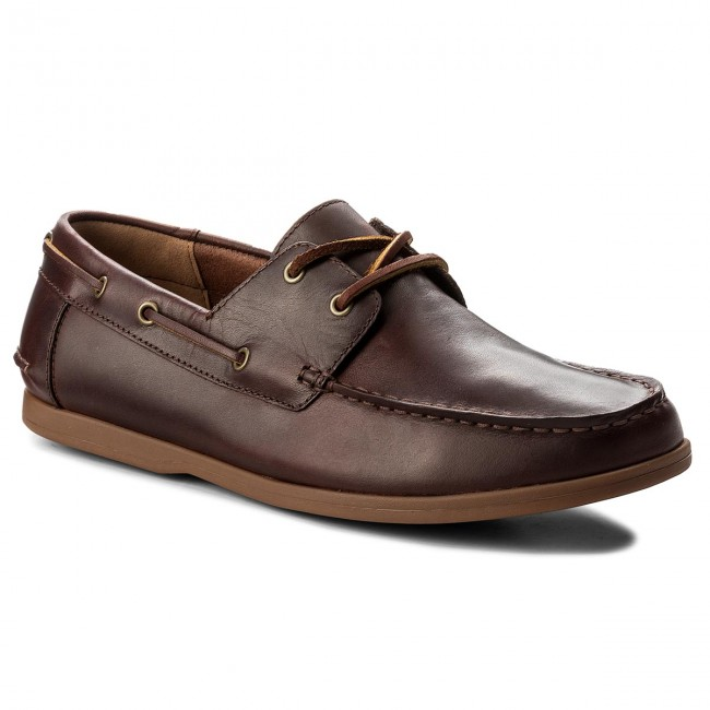 Mokasyny CLARKS - Morven Sail 261324807 British Tan Lether