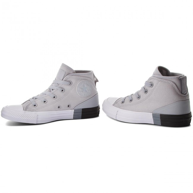 Trampki CONVERSE Ctas Syde Street Mid 159640C Wolf GreyBlackWhite