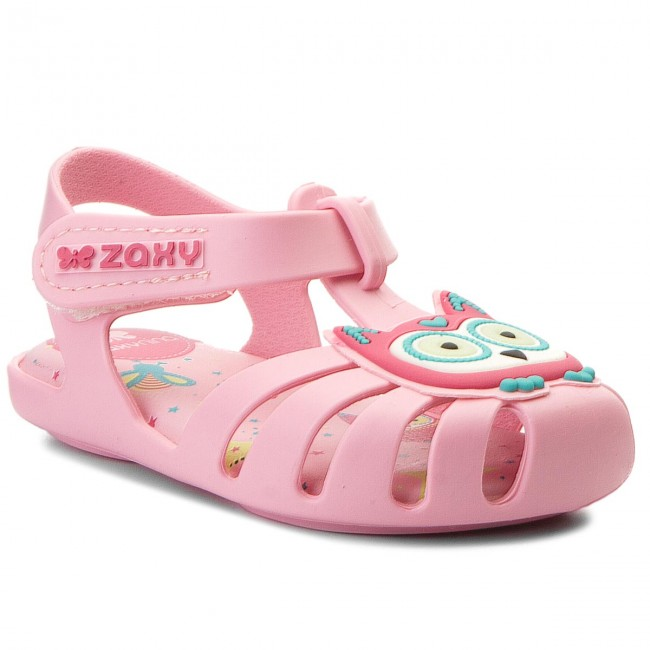 Sandały ZAXY - Glow In The Dark Baby 82443  Light Pink 90163 AA385004 33411