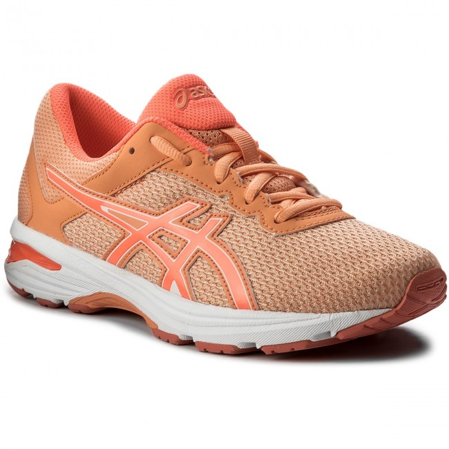 Buty ASICS - GT-1000 6 Gs C740N Apricot Ice/Flash Coral/Canteloupe 9506