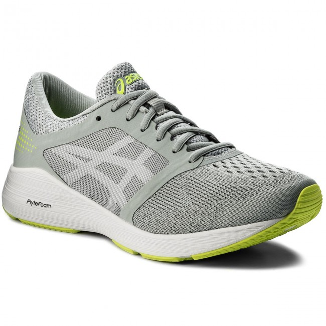 Buty ASICS - RoadHawk FF T7D2N Mid Grey/White/Safety Yellow 9601