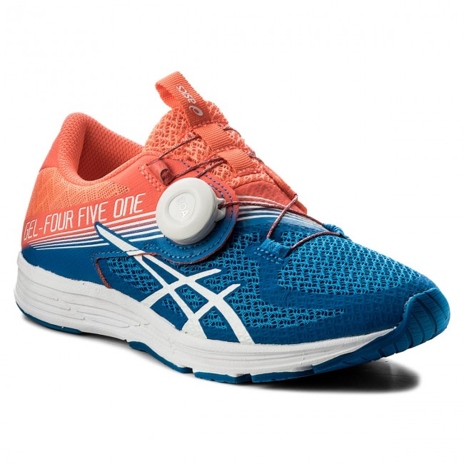 competitive price cd17b 5bd6f Buty ASICS - Gel-451 T874N Flash Coral/White/Directoire Blue 0601