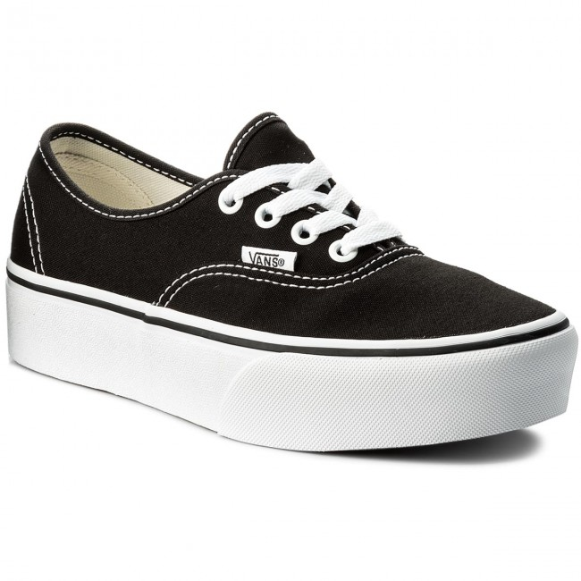 Tenisówki VANS Authentic Platform VN0A3AV8BLK Black