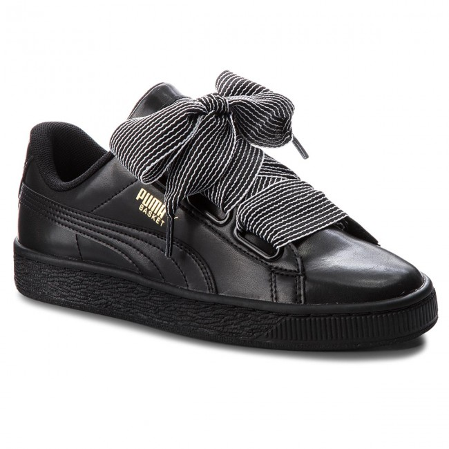Sneakersy PUMA Basket Heart Wn's 365198 01 Puma Black