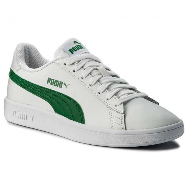 Sneakersy PUMA Smash Vl L 365215 03 Puma WhiteAmazon Green
