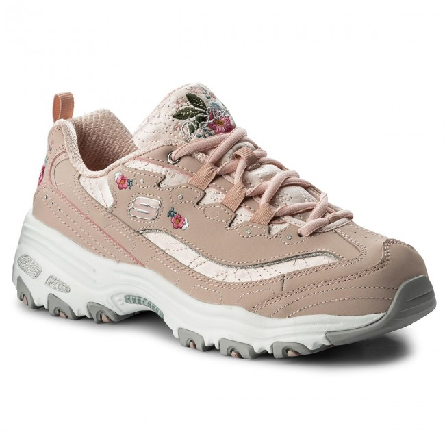 Sneakersy SKECHERS Bright Blossoms 11977LTPK Light Pink