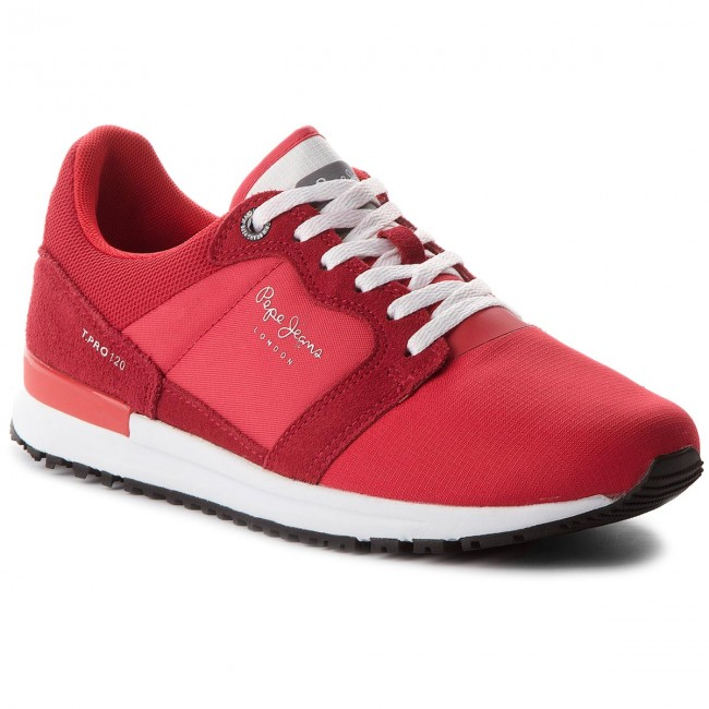 Sneakersy PEPE JEANS - Tinker Pro 120 Factory Red 220