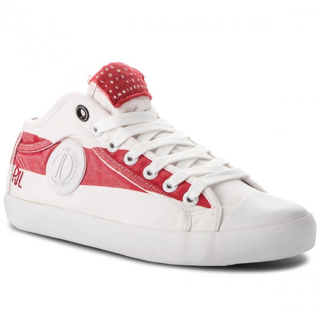 Trampki PEPE JEANS - In 45 PLS30696 Factory Red 220