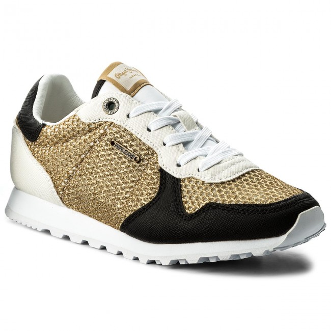 Sneakersy PEPE JEANS - Verona W Mesh PLS30626 Gold 099