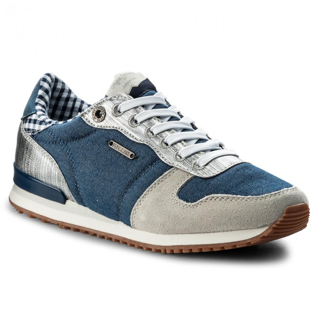 Sneakersy PEPE JEANS - Gable Sue PLS30616 Marine 585