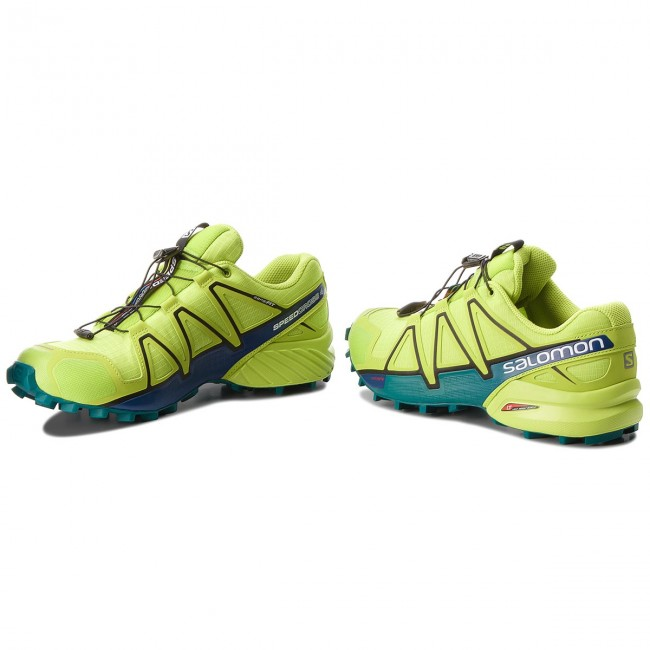 Buty SALOMON Speedcross 4 400779 29 V0 Acid LimeLime GreenDeep Lake