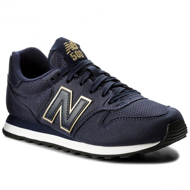 bc386321 Sneakersy NEW BALANCE - GW500NGN Granatowy - Sneakersy - Półbuty ...