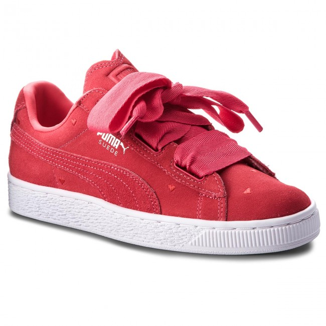 online store b8a0e cab88 Sneakersy PUMA - Suede Heart Valentine Jr 365135 01 Paradise Pink/Paradise  Pink