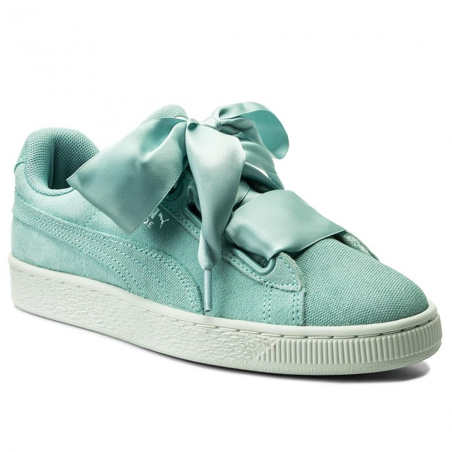 the best attitude 26934 e41c6 Sneakersy PUMA - Suede Heart Pebble Wn's 365210 03 Aquifer/Blue Flower