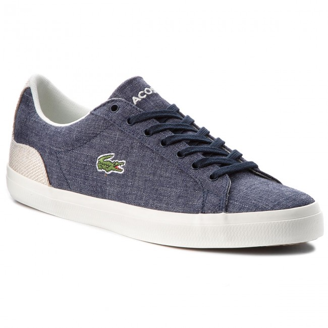 Sneakersy LACOSTE - Lerond 218 1 Cam 7-35CAM007567F Nvy/Nat