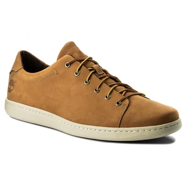 Sneakersy TIMBERLAND Court Side Leather Ox A1GMT Wheat