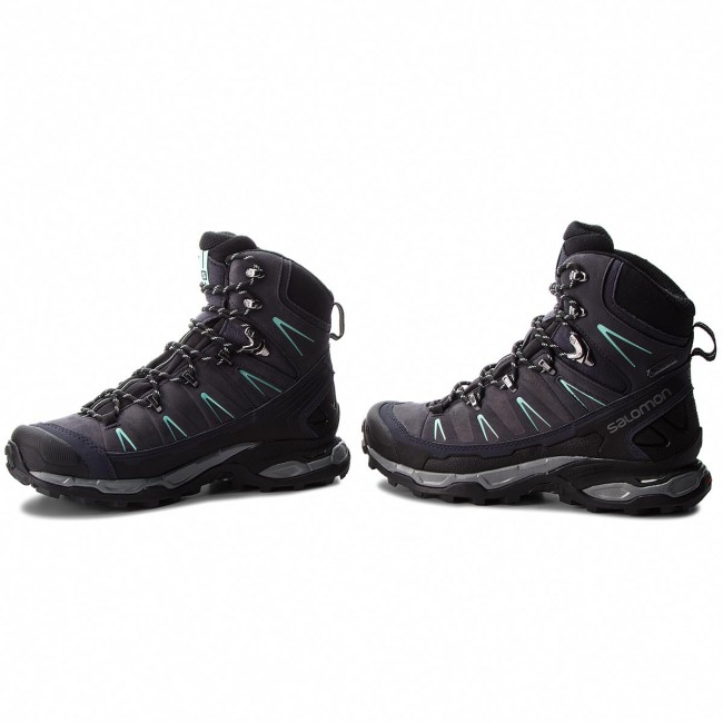 Trekkingi SALOMON X Ultra Trek Gtx W GORE TEX 404631 21 V0 GraphiteBlackBeach Glass