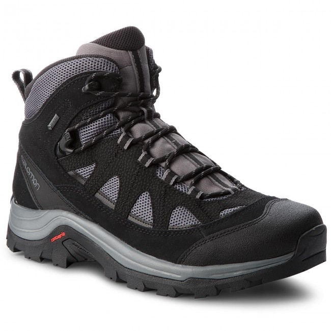 Trekkingi SALOMON Authentic Ltr Gtx GORE TEX 404643 33 V0 MagnetBlackQuiet Shade