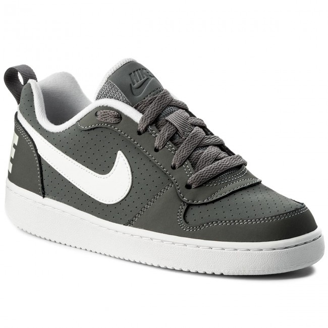 Buty NIKE Court Borough Low (GS) 839985 002 Cool GreyWhite