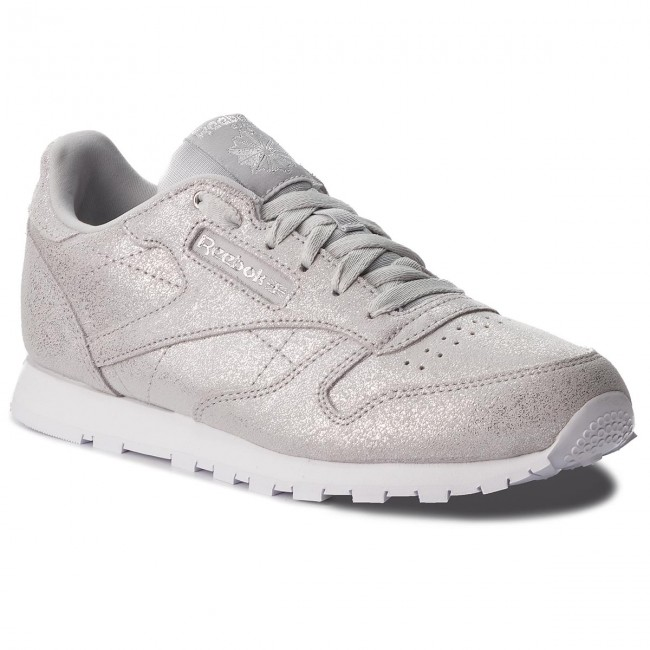 Buty Reebok Classic Leather CN5581 Silver MetGreyWht