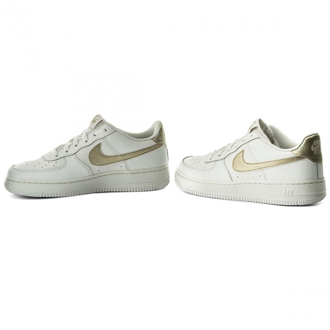 Buty NIKE Air Force 1 (GS) 314219 127 Summit WhiteMtlc