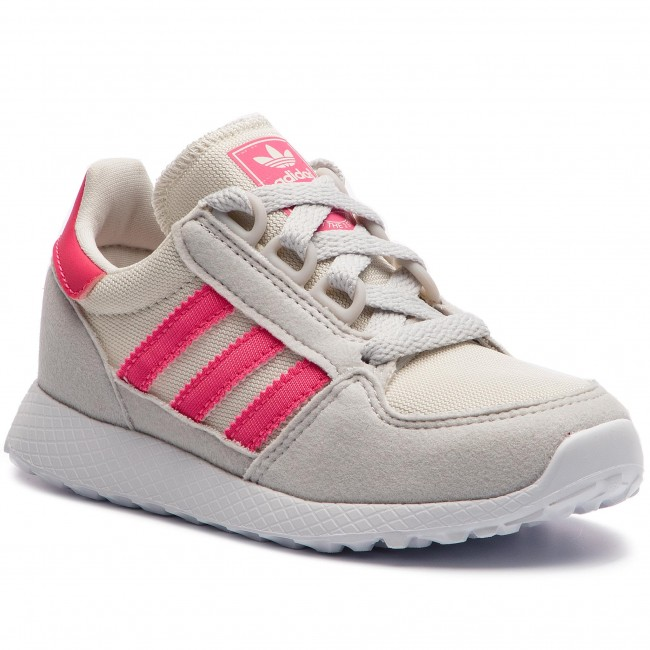Buty adidas - Forest Grove C B37748  Cwhite/Reapnk/Greone