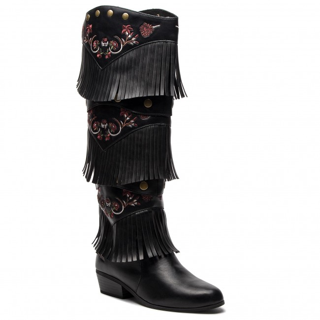 Kozaki DESIGUAL - Shoes Totem Gipsy Patch 18WSTP01 2000