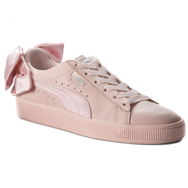 more photos 2e283 90ae3 Sneakersy PUMA - Basket Bow Wn's 367319 02 Pearl/Pearl