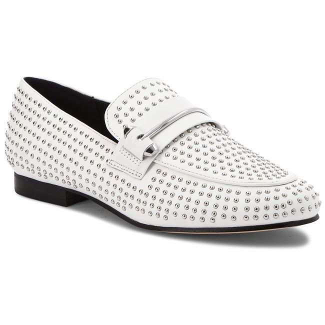Lordsy STEVE MADDEN - Kast Loafer 91000896-07080-02001 White
