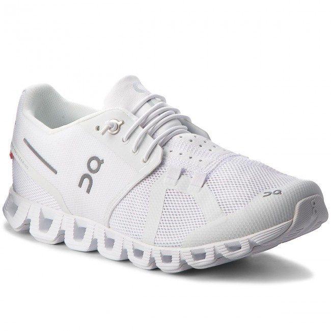 80% ZNIŻKI Buty ON Cloud 000019 All White 0005 Terenowe