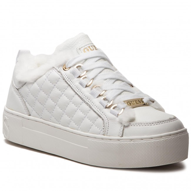 Sneakersy GUESS - FLMET4 LEA12 WHITE