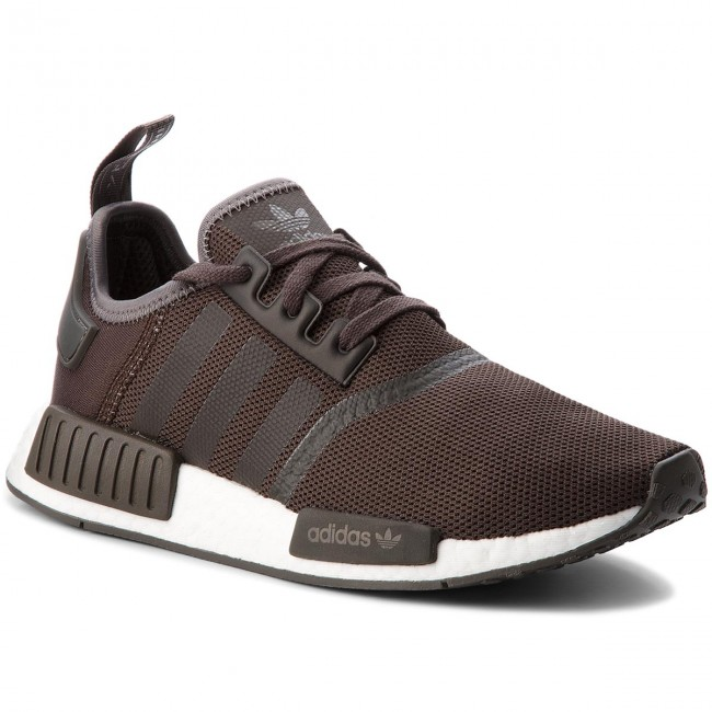 Buty adidas Nmd_R1 CQ2412 BrownTrace Grey MetalicTrace Grey MetalicFtwr White
