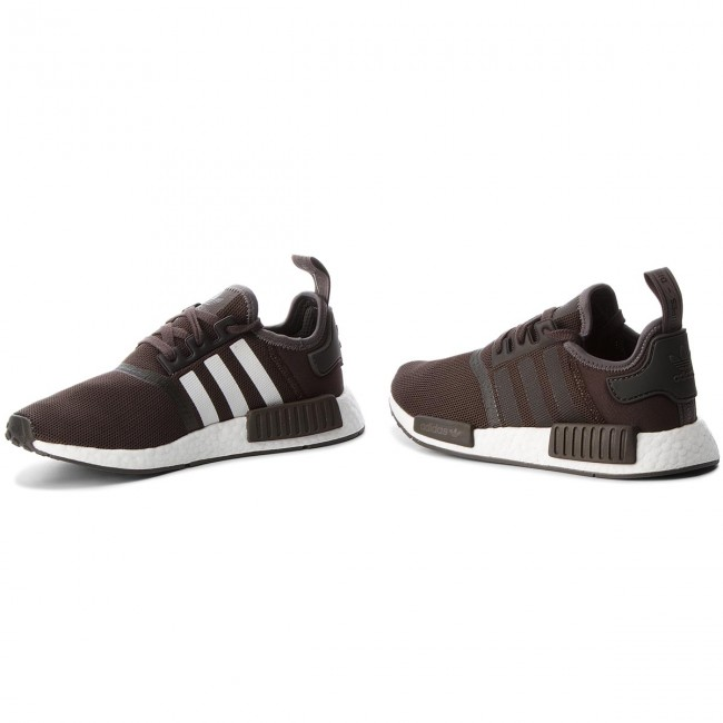 check out 7595d af3a6 Buty adidas - Nmd_R1 CQ2412 Brown/Trace Grey Metalic/Trace Grey  Metalic/Ftwr White