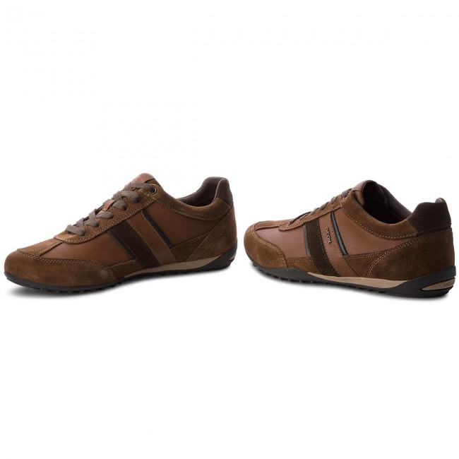 Sneakers GEOX U Wells C U52T5C 022ME C6003 Browncotto
