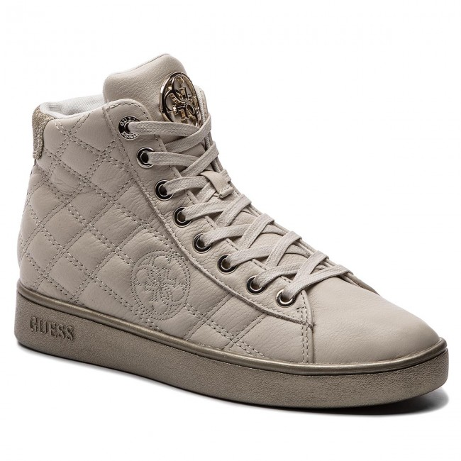 Sneakersy GUESS - FLBAX4 LEA12 WHITE