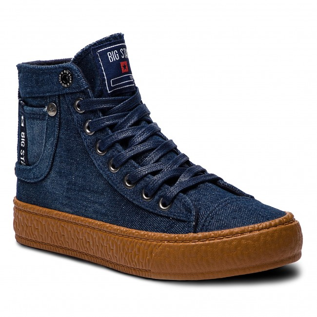 60% ZNIŻKI Sneakersy BIG STAR BB274746 Navy Sneakersy