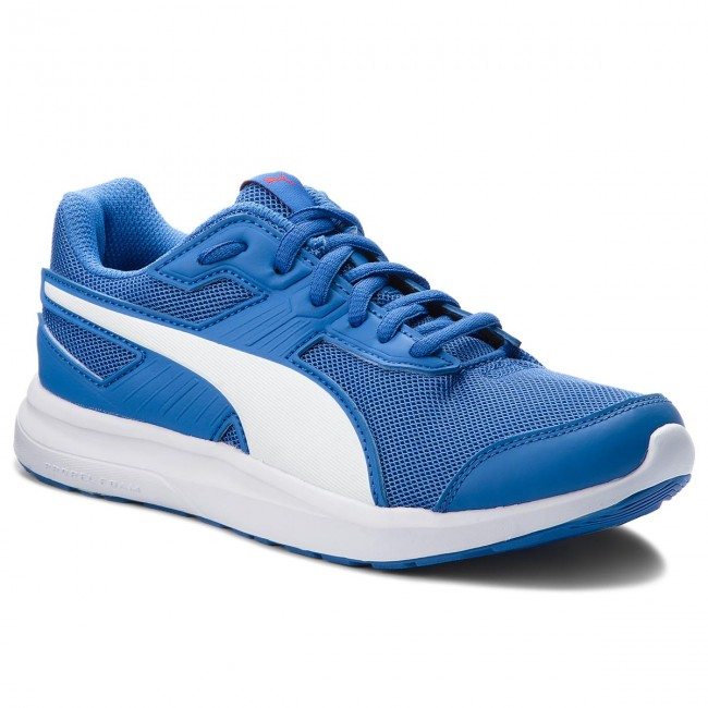 Sneakersy PUMA Escaper Mesh Jr 190325 07 BlueWhiteRibbon Red