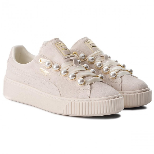 Sneakersy PUMA Suede Platform Bling Wn's 366688 02 Whisper