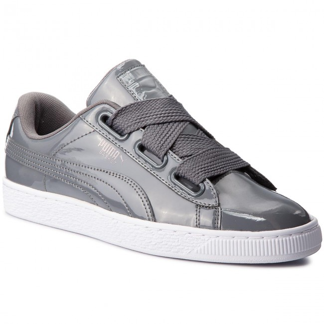 Sneakersy PUMA Basket Heart Patent Wn's 363073 17 Iron GateIron Gate