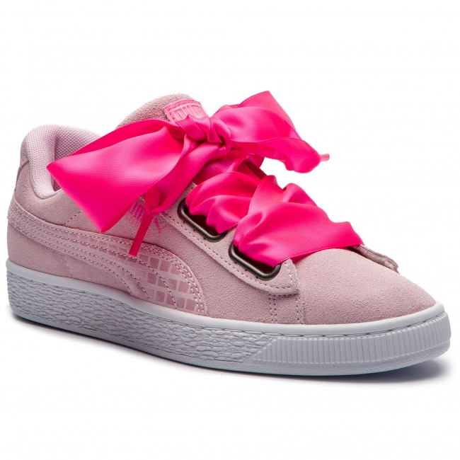 Sneakersy PUMA Suede Heart Street 2 Wn's 366780 03 Winsome Orchid